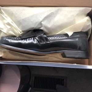 Bass black loafers- Grammer 1